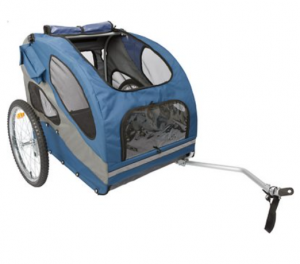 PetSafe Happy Ride Steel Pet Bicycle Trailer