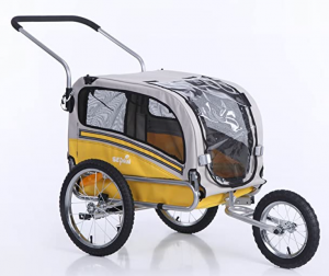 Sepnine 2 in1 pet Dog Bike Trailer