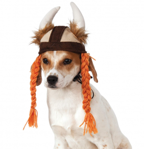 rubies viking hat for pets